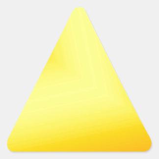 Custom Abstract Design Triangle Sticker