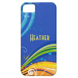 Custom Abstract IPhone 5 Barely There Case
