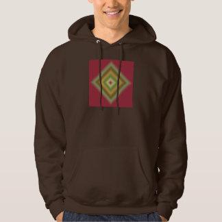 Custom Abstract Maroon Design Hoodie