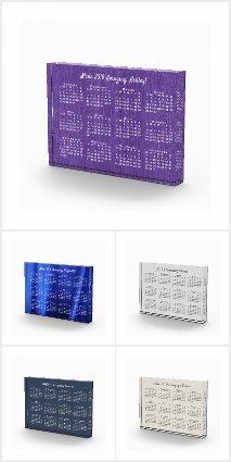 Custom Acrylic Block 2019 Desk Calendars