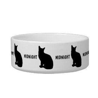 Custom Add Name Cat Bowl