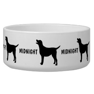 Custom Add Name Dog Bowl