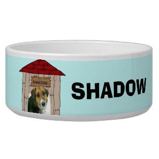 Custom Add Pet Photo and Name Dog Dish