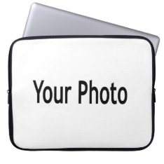 Custom  Add Your Photo Laptop Sleeve at Zazzle