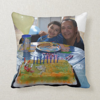 Custom Add Your Special Photo American MoJo Pillow