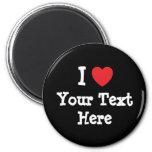 custom add your text shirt design refrigerator magnets