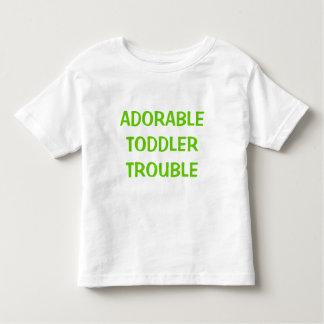 Custom Adorable Toddler Trouble Toddler T-shirt