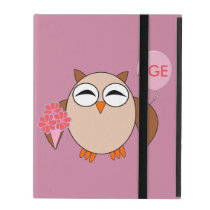 Custom Age Birthday Owl iPad Case