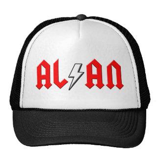 custom ALAN rock and roll shirt Mesh Hat
