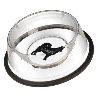 Custom Alaskan Malamute Breed Dog Bowl