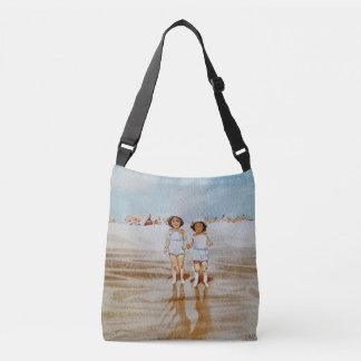 Custom All-Over-Print Cross Body Bag Beach Beauty