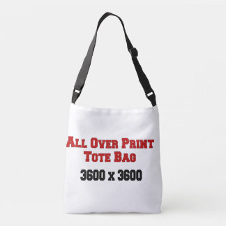 Custom All-Over-Print Cross Body Bag Template
