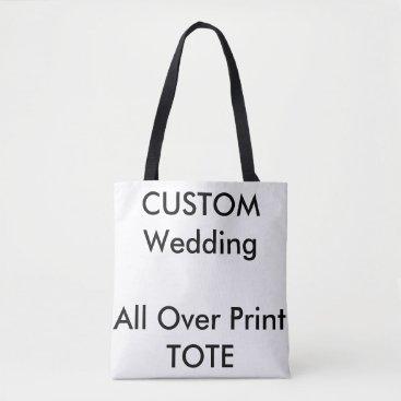 PersonalizeMyWedding Custom ALL-OVER-PRINT Tote Bag MEDIUM