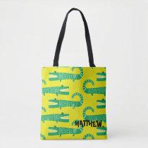 Custom Alligator Print - Add Your Name Tote Bag