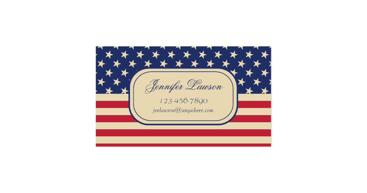 american flag business cards templates - 28 images - weathered ...