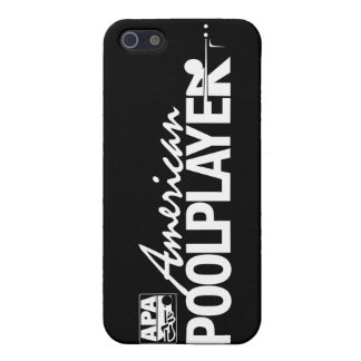 Custom American Pool Player - White iPhone SE/5/5s Cover