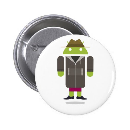 Custom Android Pinback Button
