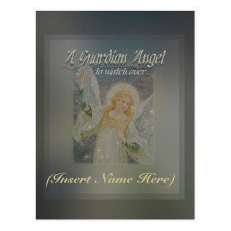 Custom Angel (Add a Name) to Personalize Postcard