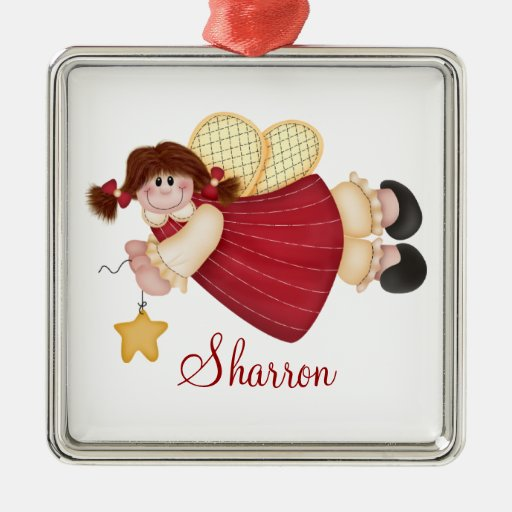 Custom Angel Christmas Ornament