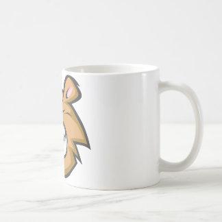 Custom Angry Bear Cartoon Logo Coffee Mug