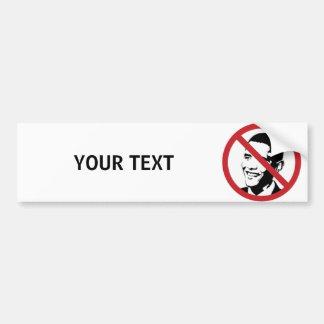 Custom Anti Obama Bumper Sticker