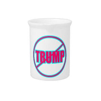 Custom Anti Trump No Trump Democratic Beverage Pitchers