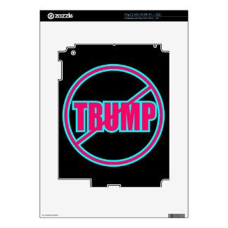 Custom Anti Trump No Trump Democratic iPad 2 Skin
