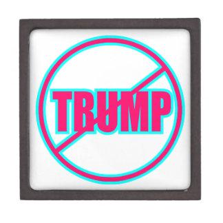 Custom Anti Trump No Trump Democratic Keepsake Box