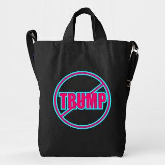 Custom Anti Trump No Trump Duck Bag