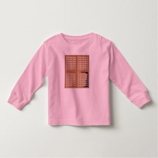 Custom Antique Capiz Shell Window Panel Kids Shirt