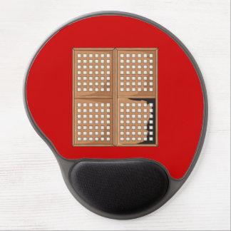 Custom Antique Capiz Shell Window Panels Cards Pin Gel Mouse Pad