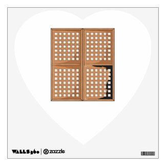Custom Antique Capiz Shell Window Panels Cards Pin Wall Decal
