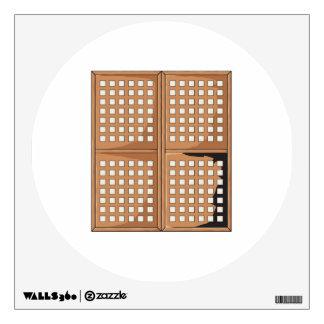 Custom Antique Capiz Shell Window Panels Cards Pin Wall Sticker