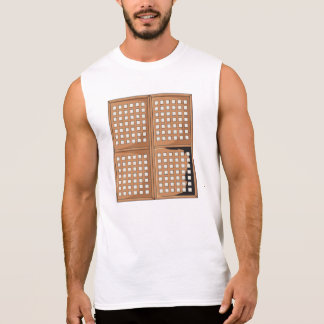 Custom Antique Capiz Shell Window Panels T Shirts