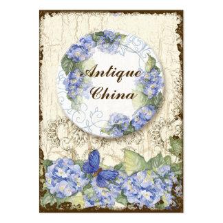 Custom Antique China Shoppe Elegant Business Cards