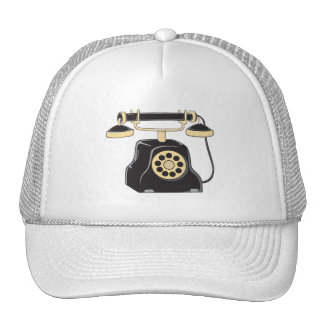 Custom Antique Rotary Dial Telephone Collector Mug Hats