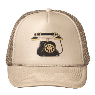 Custom Antique Rotary Dial Telephone Collector Mug Trucker Hat