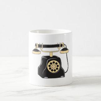 Custom Antique Rotary Dial Telephone Collector Pin Magic Mug