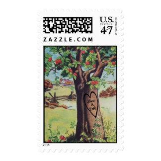 Custom Apple Tree Stamp