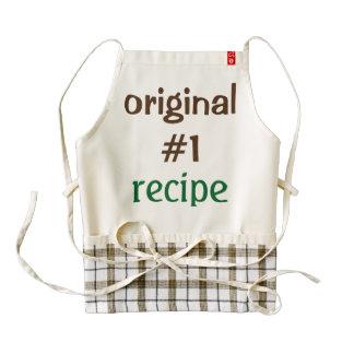 Custom apron for cooks