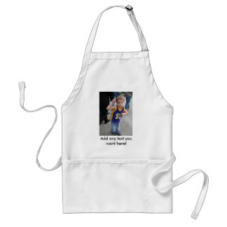 Custom Apron with Picture and Text