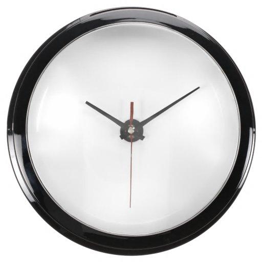 Custom Aqua Clock
