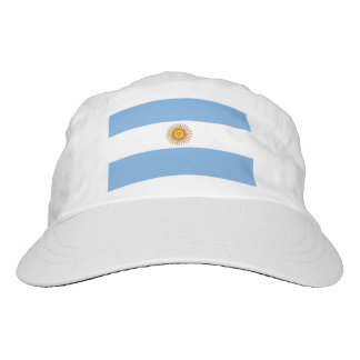 Custom Argentina flag knit and woven sports hats Headsweats Hat