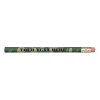 Custom army camouflage pencils for home or office
