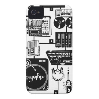 custom Assemble Your Hustle Music Mixology iPhone 4 Cover
