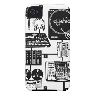 custom Assemble Your Hustle Music Mixology iPhone 4 Case