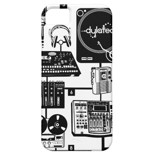 custom Assemble Your Hustle Music Mixology iPhone SE/5/5s Case