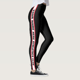 "Custom ""Athletics Club Name"" Leggings"