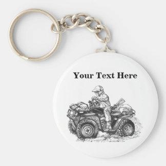 Custom ATV Gift Keychain