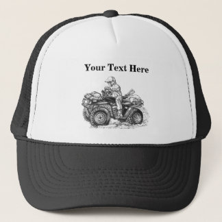 Custom ATV Gift Trucker Hat